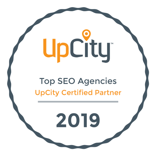 SEO Las Vegas Certification from UpCity - Top Agency Award
